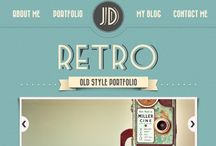 Retro Web Design Inspiration