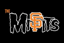 SF Giants (Niners too!) / Together we're GIANTS !!!! / by Jr. Bear Fighter