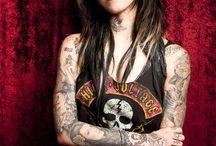 Kat Von D from LA Ink