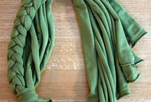 DIY Scarves / scarfs
