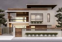 Design tampah depan rumah