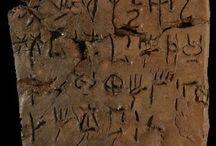 Minoan Mycenean art artifacts / Minotaur - Minoan art - Mycenean art - Phi idol - Snake goddess