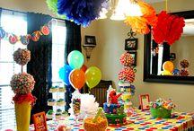 sesame street birthday party ideas boy