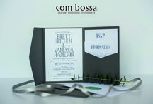 Latest Wedding Stationery Designs / Luxury and bespoke wedding invitations and wedding stationery by Com Bossa.