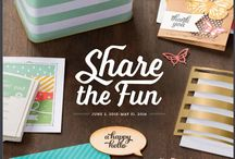 CATALOGS :: 2015/2016 Annual Catalog / Quick Pin board for newest finds from the brand new 2015-1216 Annual Catalog for Stampin' Up!  - Catalog begins June 2, 2015
