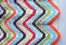Loca con las lanas - Mantas / Mantas de crochet