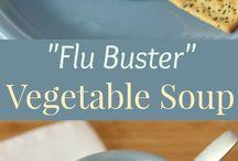 Flu buster soup