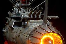 Yamato space batleship