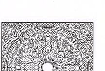 Coloring Pages I haven't seen anywhere else / These are are pages out of some of the books I have purchased I will try to keep adding new ones from time to time