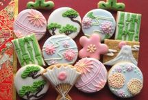和柄アイシングクッキー