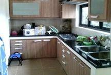 kitchen set pamulang, reni jaya, bukit dago, cinangka