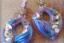 Bead embroidery/ soutache