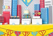 Super hero theme party / by Erin Elizabeth