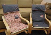 Habillage siège enfant