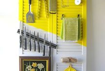 things to do with old shutters / by tracy aichele