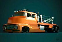 Tow Trucks / Trucks
