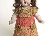Dress for Antique French or German Doll