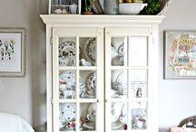 armoire decorating