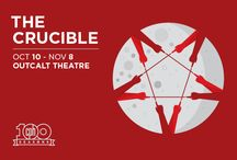 The Crucible / The village of Salem is run wild with tales of witchcraft. Deep-seated jealousies, lust and greed are bubbling to the surface from the heat of each neighbor's exaggerated accusations. Revenge has replaced reason; mere rumors are now damning evidence — and no one is safe. Astoundingly relevant, Arthur Miller's controversial American classic dares to put us all on trial.