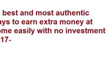learn to earn / will show you some authentic ways to earn money online