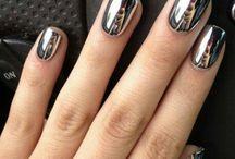 Modern Metallic Nails Inspirations - inspiracje na metaliczny manciure