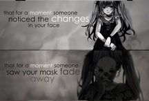Sadness / Sad pictures that described depression, sadness, lonelyness..