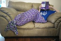 Mermaid lapgan pattern