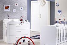 Chambre de bébé Astride blanc /  Découvrez la collection de meubles Astride Blanc, pour une chambre de bébé au charme nordique !