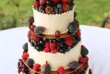 Wedding cakes - rustic
