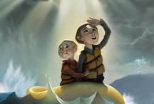 Illustrations / Book covers, kids book paintings, and inspirational digital paintings.