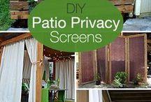 patio privacy screens