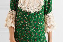 Excentric dresses