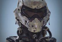 Characters - Space Opera & Cyberpunk (Sci fi)