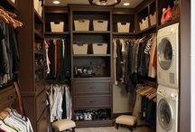 Sandkey Closet Laundry Ideas