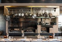 Küche und Grill