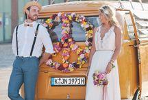 VW Boho Wedding / #vw #vwt2 #vwwedding #volkswagen #trouwen #bruiloft #inspiratie #strand #babyblue #blauw #volkswagent2 #trouwauto #trouwbus #mint #minty #weddingcar #weddingvan #trouwvervoer #hippie #bohemian #roadtrip #volkswagenbus #volkswagenbusje #t2 #t1 #ideas #inspiration #devolkswagenbus