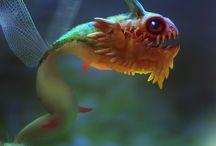Fan fish