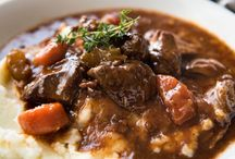 Wintery Soups and Stews