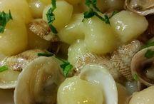 Chicche di patate con vongole