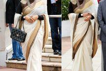 Vidya Balan Cannes Bollywood Replica Saree - Bollywood Sarees - Women   Zakasi.com