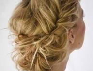 Hairstyles / Beautiful hairstyles for brides and bridesmaids
