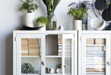 Stylish Storage. / Functional but pretty furniture storage ideas