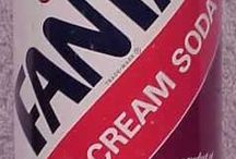 Vintage Red Cream Soda Inspiration / A collection of graphics from the past that inspires our designs.