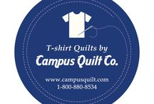 CQ- Videos / Here are our current videos to introduce and help you get your very own t-shirt quilt from Campus Quilt Company.  / by Campus Quilt Company