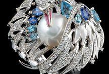 Swan rings