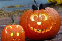 Halloween / pompoen, spoken ,heksen en decoratie.
