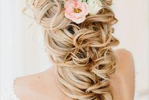 Wedding hair does