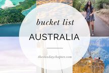 AUSTRALIA / Fill your life with adventures, not things.Have stories to tell not stuff to show!