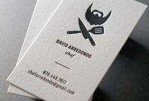 chef business card (aşçı)