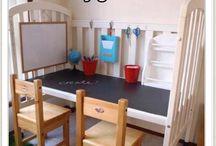 Inspiration barnrum / Samlade bilder som inspiration för barnrum